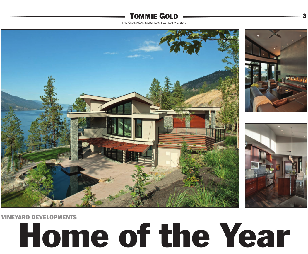 home of the year Home of the Year 2012